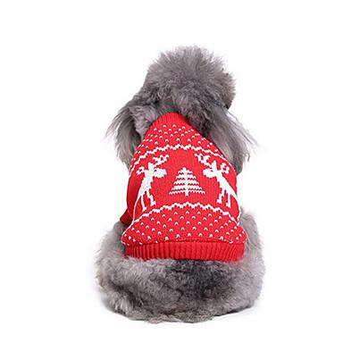 كلب البلوزات ملابس الكلاب عيد الميلاد عيد الميلاد المجيد كوستيوم للحيوانات الأليفة