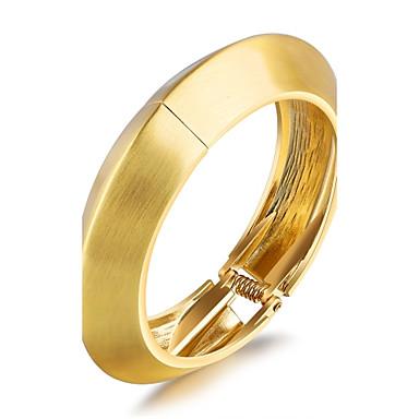 Pentru femei Brățări Bantă Zirconiu Cubic Design Basic La modă Adorabil bijuterii de lux Zirconiu Placat Auriu Placat Cu Aur Roz Taper