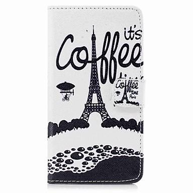 Maska Pentru Samsung Galaxy S8 Plus S8 Titluar Card Portofel Cu Stand Întoarce Model Corp Plin Turnul Eiffel Greu PU Piele pentru S8 S8