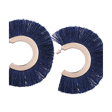 Pentru femei Cercei Picătură Bijuterii Personalizat Γεωμετρικά Ciucure Boem Modă Aliaj Geometric Shape Bijuterii Negru Portocaliu Rosu