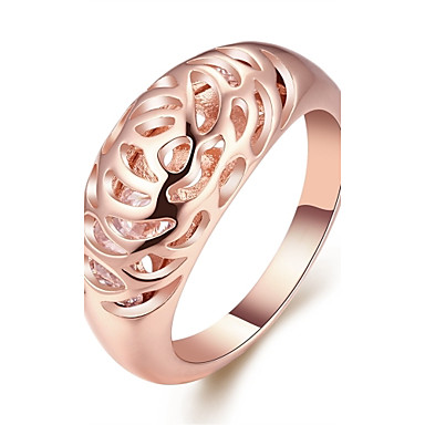Pentru femei Band Ring Bijuterii Personalizat Γεωμετρικά Bling bling Cute Stil Modă Placat Cu Aur Roz Aliaj Circle Shape Geometric Shape