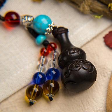 tas / telefoon / sleutelhanger charm cartoon speelgoed houten mobiele telefoon charms