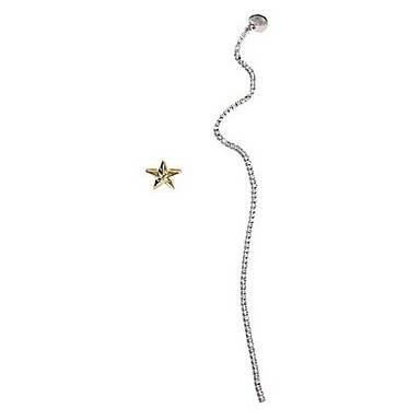 Pentru femei Cercei Stud La modă Personalizat Nepotrivirea Aliaj Round Shape Star Shape Line Shape Bijuterii Pentru Alte Ieșire