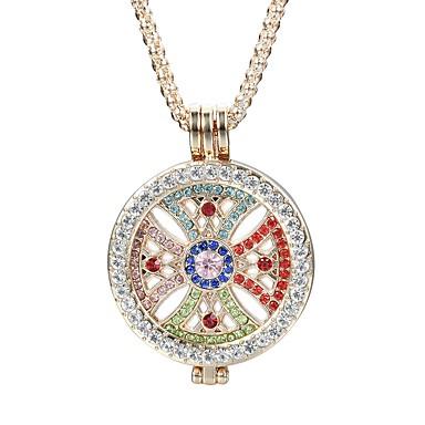Pentru femei Rotund Clasic Modă Elegant Coliere cu Pandativ Cristal Ștras Cristal Diamante Artificiale Aliaj Coliere cu Pandativ . Zilnic