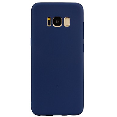 Case For Samsung Galaxy S8 Plus S8 Frosted Back Cover Solid Color Soft TPU for S8 Plus S8 S7 edge S7 S6 edge S6