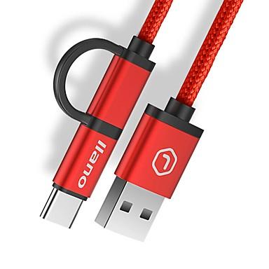 USB 2.0 Cablu, USB 2.0 to USB 2.0 tip C Micro USB 2.0 Cablu Bărbați-Bărbați 1.2m (4ft)