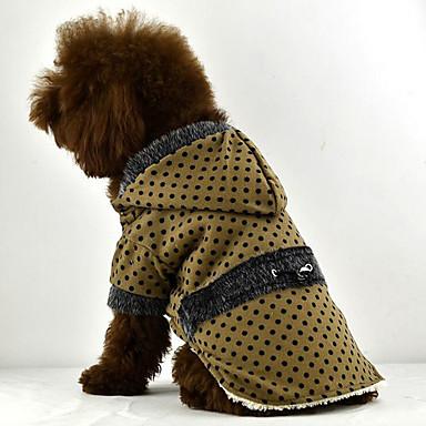 Hund Kapuzenshirts Hundekleidung Atmungsaktiv Lässig/Alltäglich Tupfen Schwarz Orange Gelb Rot Blau Kostüm Für Haustiere