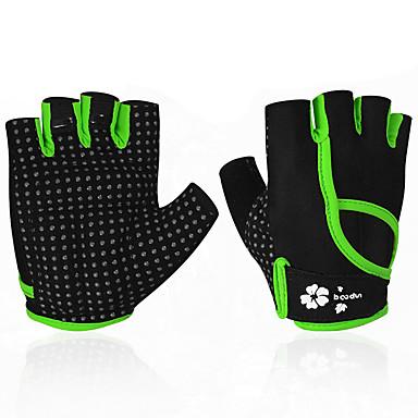 BOODUN/SIDEBIKE® Aktiivi/ Urheilukäsineet Pyöräilyhanskat Käytettävä Kulutuksen kestävä Protective Sormeton Synteettinen tekstiilikuitu