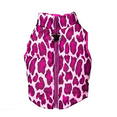 Hund Weste Hundekleidung Lässig/Alltäglich Leopard Kostüm Für Haustiere