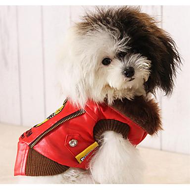Hond Jassen Hondenkleding Casual/Dagelijks Letter & Nummer Zwart Rood Kostuum Voor huisdieren