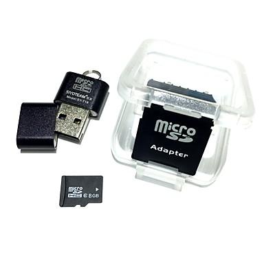 8GB TF card Micro SD card card de memorie Class6 AntW1-8