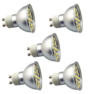5pcs 3 W 350 lm Spot LED 29 Perles LED SMD 5050 Décorative Blanc Chaud / Blanc Froid 220 V / 5 pièces