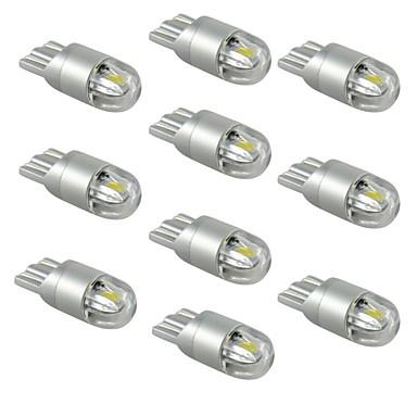 ieftine Becuri De Mașină LED-10pcs T10 Mașină Becuri 1W SMD 5730 120lm Becuri LED Lumini exterioare