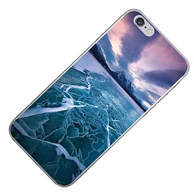Fantasia iPhone iPhone 7 Plus iPhone Morbido Apple 06105174 6s 7 per iPhone Custodia Per Plus Per iPhone Plus 7 retro Paesaggi TPU 7 disegno FxZqE0H