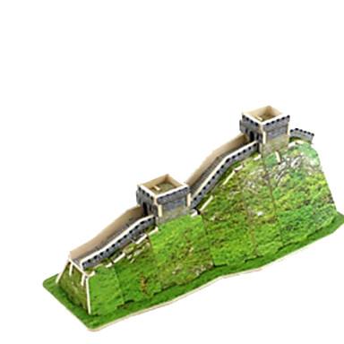 3D-puzzels Legpuzzel Houten modellen Beroemd gebouw Architectuur 3D Hout Natuurlijk Hout Verjaardag Unisex Geschenk