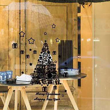 Autocolante de Perete Decorative - Autocolante perete plane Romantic Crăciun Vacanță Sufragerie Interior Magazien / Cafenele