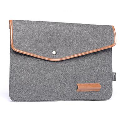 Notebook liner pack lederwol vilt computer tas 16 inches