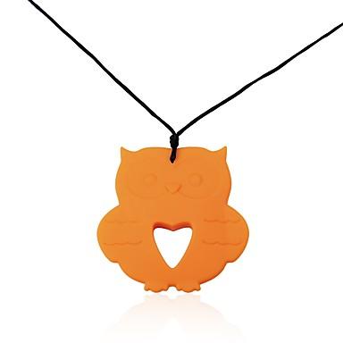 Pentru femei Geometric Shape Bufniţă Formă Design Animal Clasic Bijuterii Statement Elegant Crăciun Coliere cu Pandativ Bijuterii