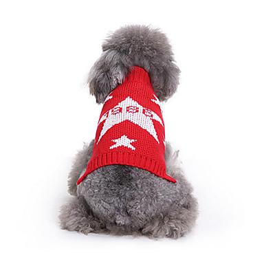 Hund Pullover Hundekleidung Lässig/Alltäglich Sterne Kostüm Für Haustiere