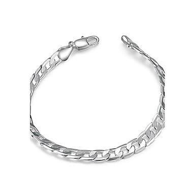 Pentru femei Fete Brățări cu Lanț & Legături Cristal Geometric Prietenie La modă stil minimalist Cristal Argilă Oval Shape Geometric Shape