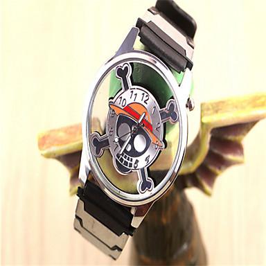 Χαμηλού Κόστους Ανδρικά ρολόγια-Ανδρικά Γυναικεία Μοδάτο Ρολόι Χαλαζίας κράμα Μπάντα Κινούμενα σχέδια Ασημί