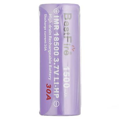 bestfire imr18650 3.7v li-cp baterie reîncărcabilă 1500mAh 30A 3.7v