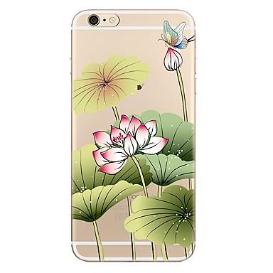 Maska Pentru Apple iPhone 7 / iPhone 7 Plus Transparent / Model Capac Spate Floare Moale TPU pentru iPhone 7 Plus / iPhone 7 / iPhone 6s