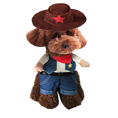 Câine Costume Îmbrăcăminte Câini Cosplay Englezesc Maro