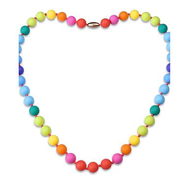 Pentru femei Geometric Shape Formă Personalizat Lux Clasic Boem Elegant Toroane Coliere Bijuterii silicagel Toroane Coliere Crăciun