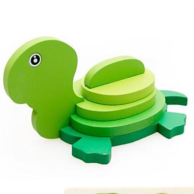 Puzzle 3D Puzzle Jucarii Animal 3D Lemn Lemn natural Unisex Băieți Bucăți