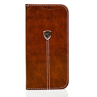 Carcasă pentru huawei p10 lite p10 carcasă pentru capacul capacului portofel portofel cu suport flip carcasă integrală culoare solidă hard