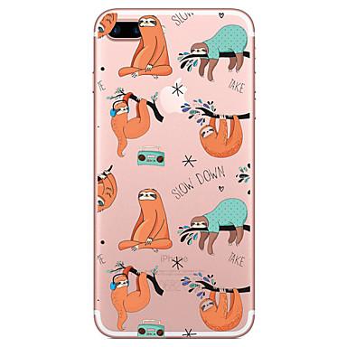 Case voor apple iphone 7 7 plus case cover luier patroon geschilderd hoge penetratie tpu materiaal zacht geval telefoon hoesje voor iphone