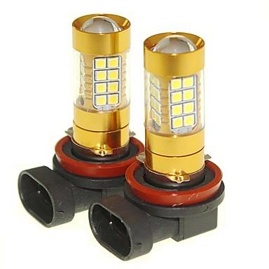Недорогие Фары для мотоциклов-SENCART 2pcs PGJ19-2 Автомобиль Лампы 36W SMD 3030 1500-1800lm Светодиодные лампы Противотуманные фары