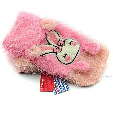 Câine Haine Îmbrăcăminte Câini Casul/Zilnic Rabbit / bunny Galben Roz Costume Pentru animale de companie
