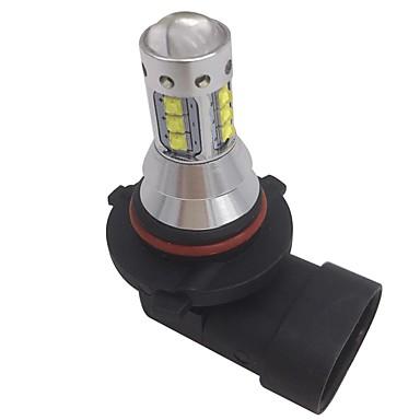 ราคาถูก ไฟรถยนต์-2pcs 9005 รถยนต์ Light Bulbs 80W LED แรงสูง 8000lm ไฟฉวยหมวกสวมหัว ไฟคาดหัว