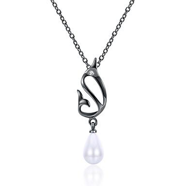 Pentru femei Perle Coliere cu Pandativ - Perle Alb / Lux