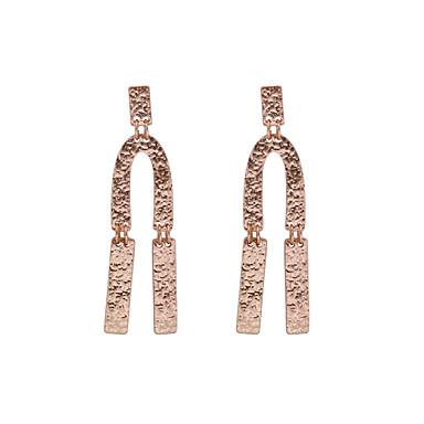 Pentru femei Cercei Picătură Bijuterii La modă Personalizat stil minimalist Clasic Placat Auriu Geometric Shape Bijuterii PentruNuntă