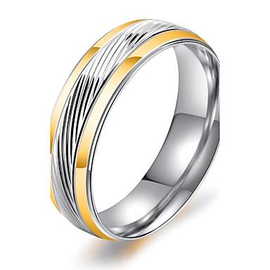 Bărbați Band Ring - Circle Shape Vintage / Elegant / Modă Titan Inel Pentru Nuntă / Logodnă / Zilnic