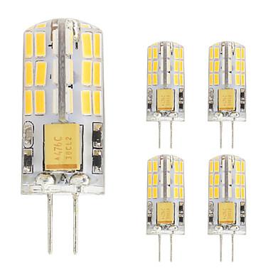 2W G4 Becuri LED Bi-pin T 48 led-uri SMD 4014 Alb Cald Alb Rece 180lm 2800-3500;5000-6500