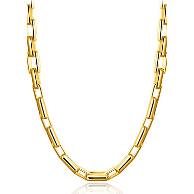 Bărbați Geometric Shape Formă Clasic Natură Bling bling Elegant Gotic Coliere Choker Bijuterii Placat Auriu Coliere Choker Absolvire