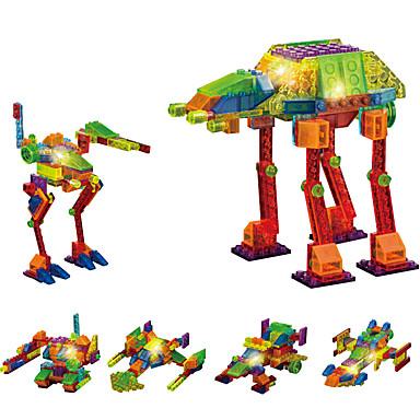 DOUZHI LED - Beleuchtung Bausteine Bildungsspielsachen 132pcs Neuheit Kämpfer Unisex Geschenk