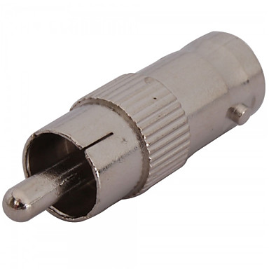 halpa CCTV-järjestelmät-Liitin 10PCS BNC Female to RCA Male Coax Cable Adapter Connector Plug CCTV Camera varten turvallisuus järjestelmät 7*2cm 0.005kg