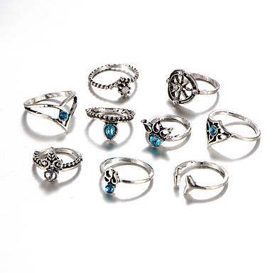 Pentru femei Cristal / Diamant sintetic / Ștras Cristal Lux / Boem / Hipoalergenic Set bijuterii - Lux / Ciucure / Boem Circle Shape /