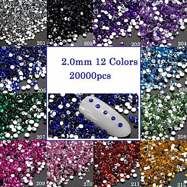 1pcs Strălucire / Cristal / Unghiul de bijuterii Glitters / Cristal / Artistic Încântător Zilnic