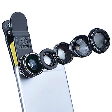 Mobiele telefoonlens Lens met filter / Fish-eye lens / Lens met lange brandpuntafstand Alumiiniseos 10X en groter 198