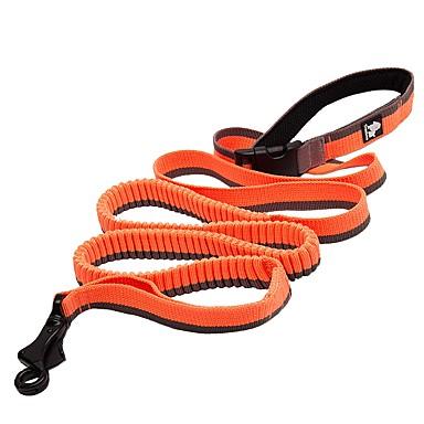 Hund Leinen Rutschfest Reflektierend Atmungsaktiv Sicherheit Solide Nylon Maschen Schwarz Orange Gelb Rot