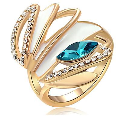 Pentru femei Band Ring Cristal Zirconiu Cubic Personalizat Lux Clasic De Bază Sexy Iubire Elegant Cute Stil Modă Cristal Zirconiu Aliaj