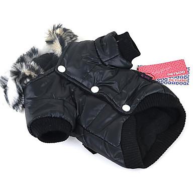 Hond Hoodies Hondenkleding Casual/Dagelijks Effen Zwart Paars Fuchsia Groen Kostuum Voor huisdieren