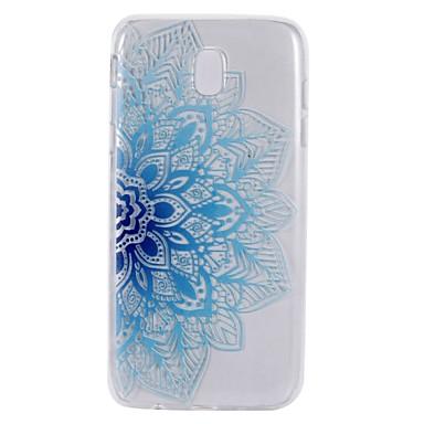 غطاء من أجل Samsung Galaxy J7 (2017) J3 (2017) شفاف نموذج غطاء خلفي زهور ناعم TPU إلى J7 Perx J7 Prime J7 (2017) J5 (2016) J5 (2017) J5
