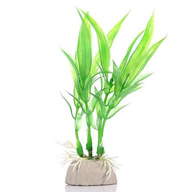 Decorațiune pentru Acvariu Ornamente / Plantă Apă Ne-Toxic & Fără Gust / Artificial / Drăguț Plastic